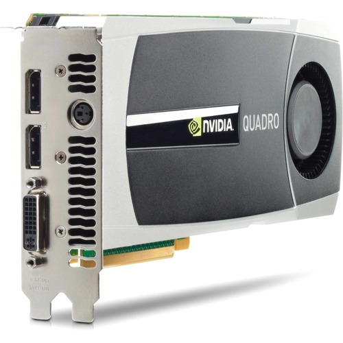 2.5GB HP nVIDIA Quadro 5000 GDDR5 DVI-I 2 X DisplayPort TV-Out 2560x1600 PCI-E WS096AA Graphics Card