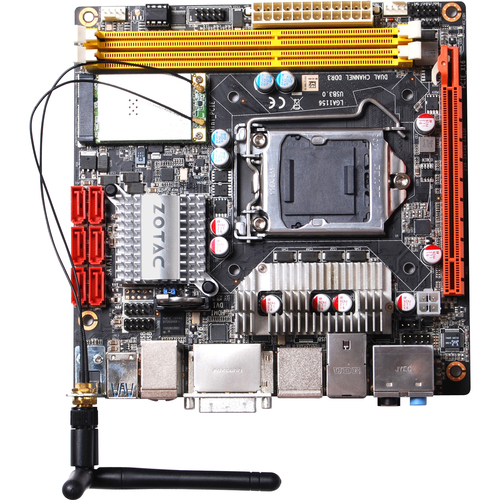 Zotac H55ITX-WiFi Desktop Motherboard - Intel Chipset