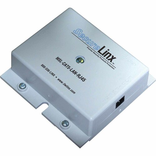 ITW Linx SecureLINX Protects 4 Pair CAT5e Rated Cable - 16V Clamping, RJ45 I/O