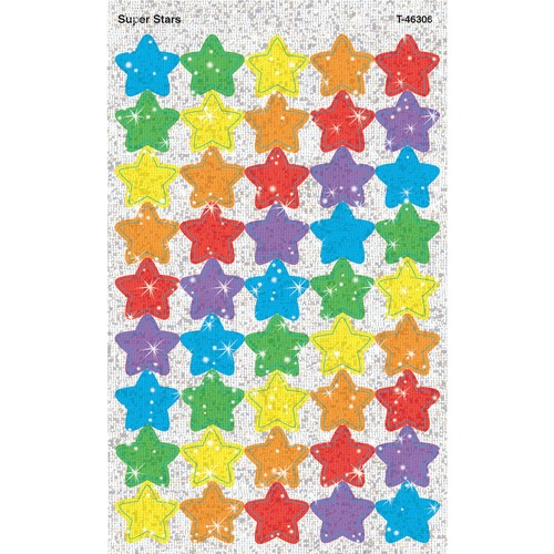 Trend Sparkling star-shaped stickers | by Plexsupply