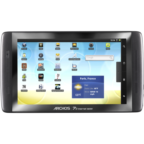 "Archos 70 7"" TFT Multitouch LCD Cortex A8 1GHz 250GB HDD Android 2.2 Tablet Computer"