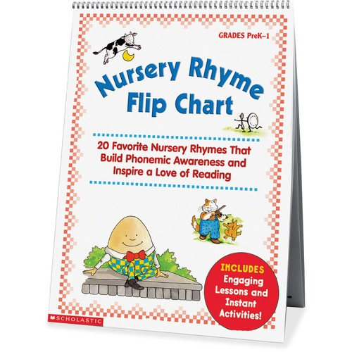 Scholastic Res. Nursery Rhyme Flip Chart | by Plexsupply