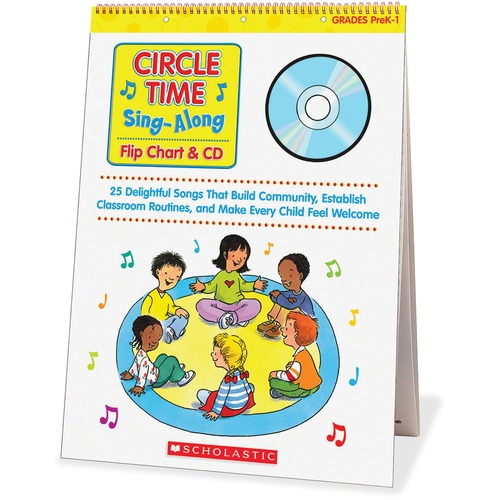 Scholastic Res. Circle Time Sing-Along Flip Chart | by Plexsupply