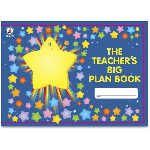 Carson Grades K-5 Teacher's Big Plan Book | by Plexsupply