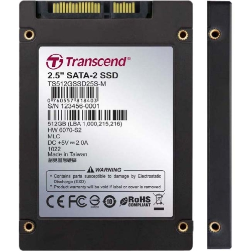 Transcend TS512GSSD25S-M 512 GB Internal Solid State Drive