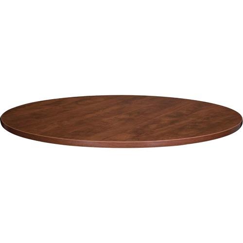 Lorell Essentials Srs Cherry Round Conf. Tables | by Plexsupply