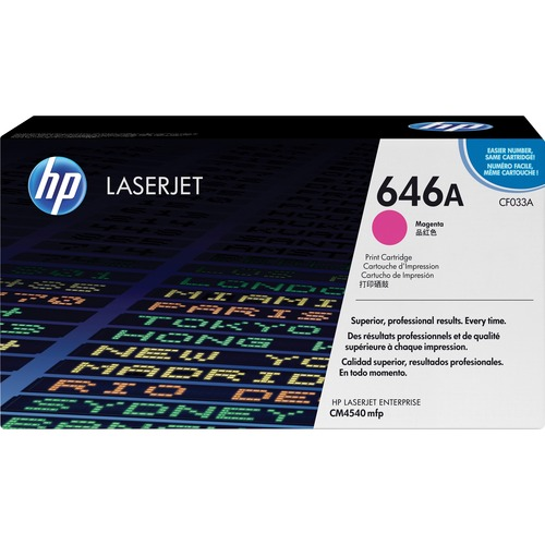 HP 646A (CF033A) Magenta Original LaserJet Toner Cartridge