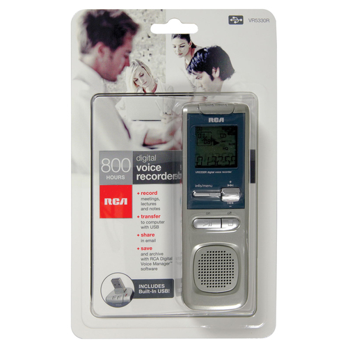 Audiovox VR5330R Digital Voice Recorder