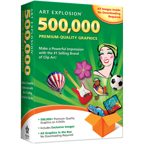 Nova Development Corp Art Explosion 500,000