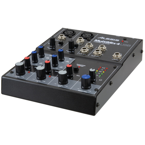 Numark MultiMix 4 USB 4-Channel Audio Mixer