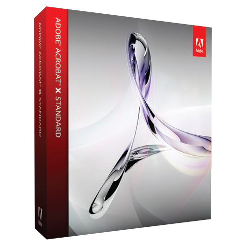 Adobe Acrobat v.X Standard - 1 User