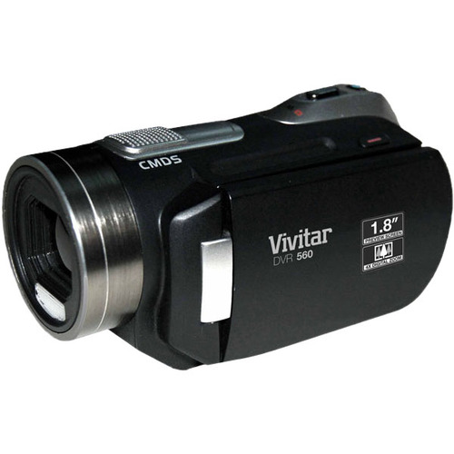 "Sakar DVR 650 Digital Camcorder - 1.8"" LCD - CMOS - Black"
