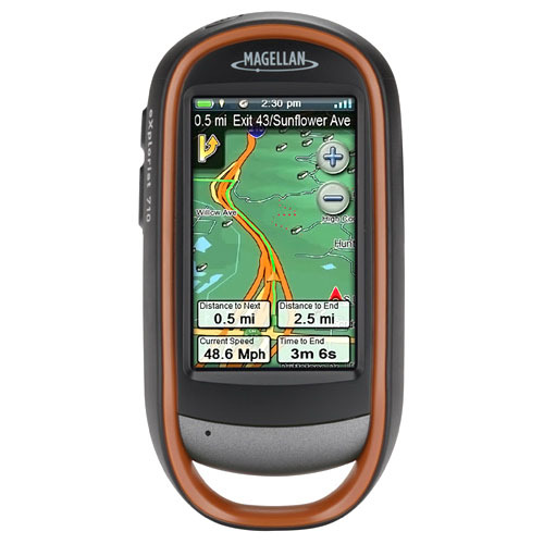 Magellan eXplorist 710 Handheld GPS Navigator