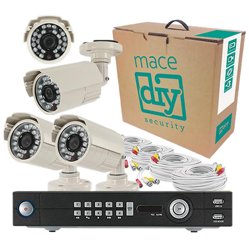Mace DIY MDIY-DVR084CKIT Video Surveillance System