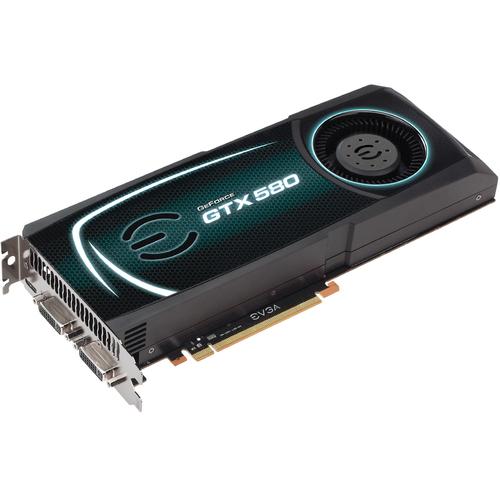 EVGA 015-P3-1582-TR GeForce GTX 580 Graphics Card - PCI Express 2.1 x16 - 1.50 GB GDDR5 SDRAM