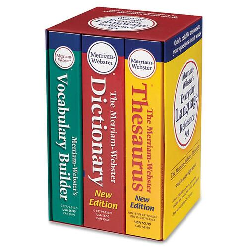 Merriam-Webster Language Reference Set