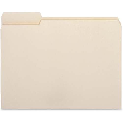 Bus. Source 1/3 Cut Tab File Folders | by Plexsupply