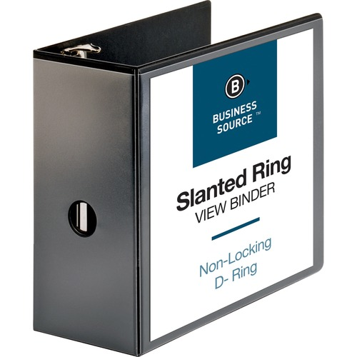 Bus. Source Basic D-Ring View Binders | by Plexsupply