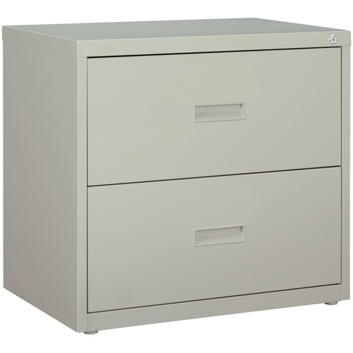 "Lorell Commercial-grade 30"" Gray Lateral File 