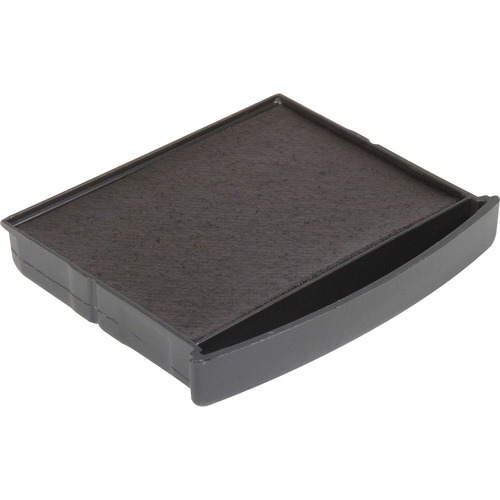 Pre-inked stamp pad, f/ line dater, black, sold as 1 each