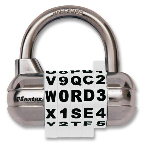 Master Lock Combination Alpha Padlock
