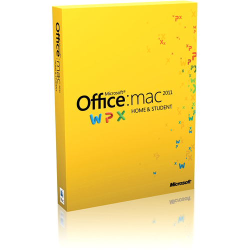 Microsoft Office: mac 2011 Home and Student - 1 Install (Spanish)