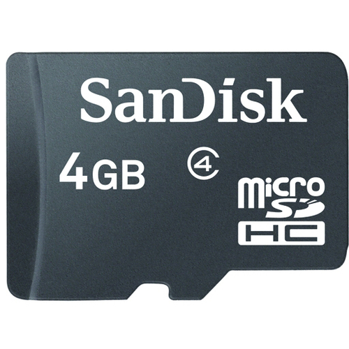 SanDisk SDSDQM-004G-B35N 4 GB microSD High Capacity (microSDHC)