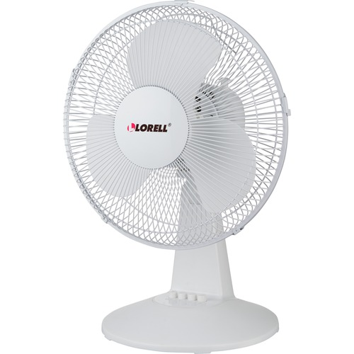 "Lorell 12"" Oscillating Desk Fan 