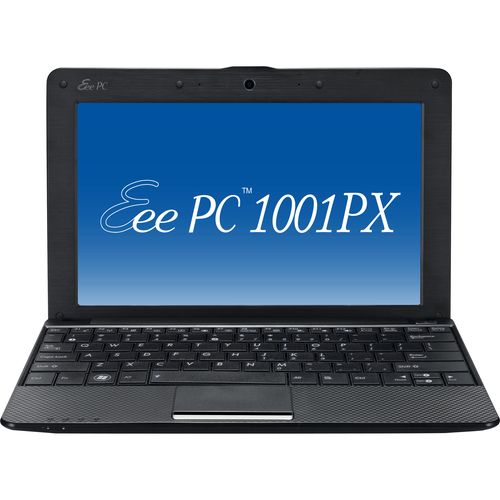 "Asus Eee PC 1001PX-EU27-BK 10.1"" LED Netbook - Atom N450 1.66 GHz - Black"
