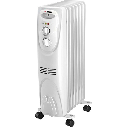 Lorell 1500 Watt 3-Setting Oil Filled Heater | by Plexsupply