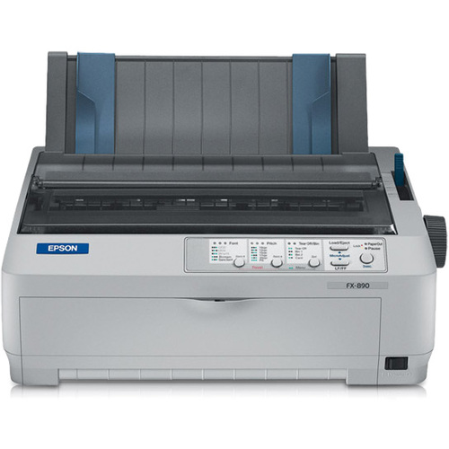 Epson FX-890 Dot Matrix Printer - Monochrome