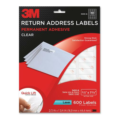 3M Return Address Label