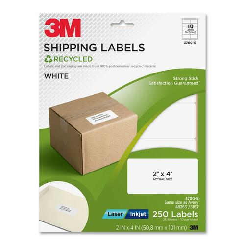 3M Shipping Label