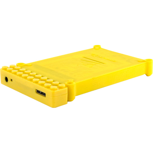 Cavalry Storage Bulldog CABD2BR-Y Storage Enclosure - External - Yellow