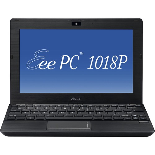 "Asus Eee PC 1018P-PU27-BK 10.1"" LED Netbook - Atom N550 1.50 GHz - Black"