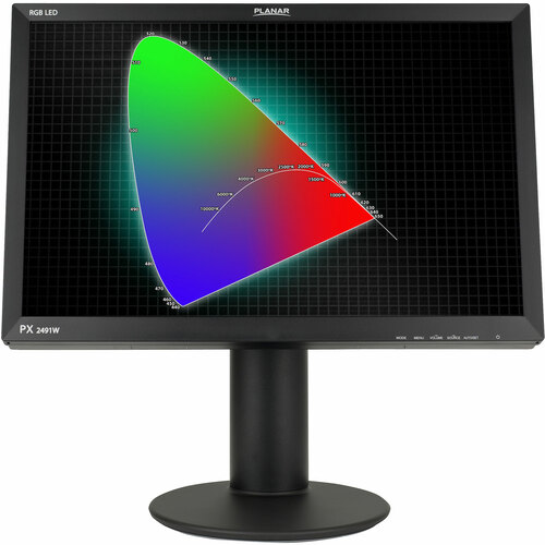 "Planar Systems PX2491W 24"" LCD Monitor - 16:10 - 6 ms"