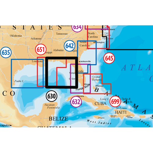 Navionics Platinum Plus Eastern Gulf of Mexico Marine Digital Map