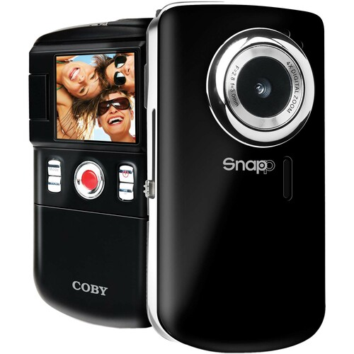"Coby SNAPP CAM3002 Digital Camcorder - 1.8"" LCD - CMOS"
