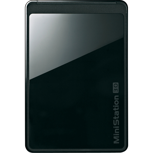 Buffalo MiniStation Stealth Portable HD-PCT500U3/B 500 GB External Hard Drive - Black