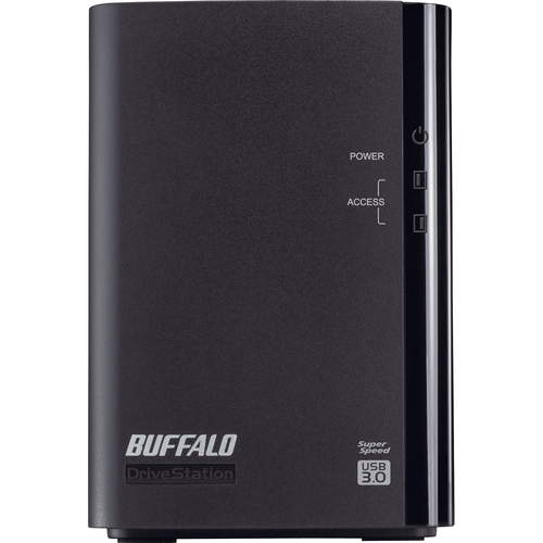 Buffalo DriveStation Duo HD-WL2TU3R1 DAS Hard Drive Array