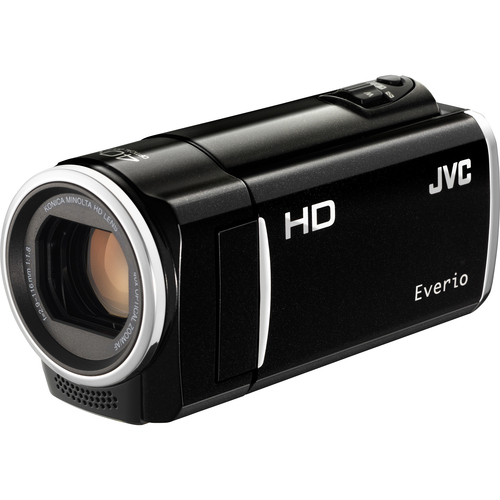 "JVC Everio GZ-HM30 Digital Camcorder - 2.7"" LCD - CMOS - Black"
