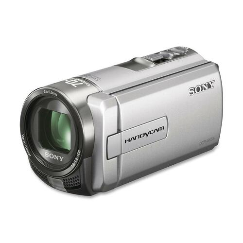 "Sony Handycam DCR-SX85 Digital Camcorder - 3"" LCD - Touchscreen - CCD - SD - Silver"