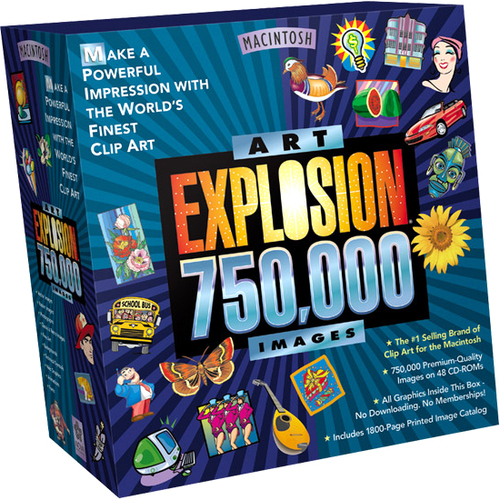 Avanquest Software Art Explosion 750000 - 1 User