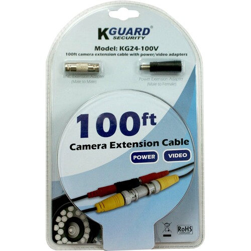 KWorld KG24-100V Video Cable - 100 ft - Extension Cable