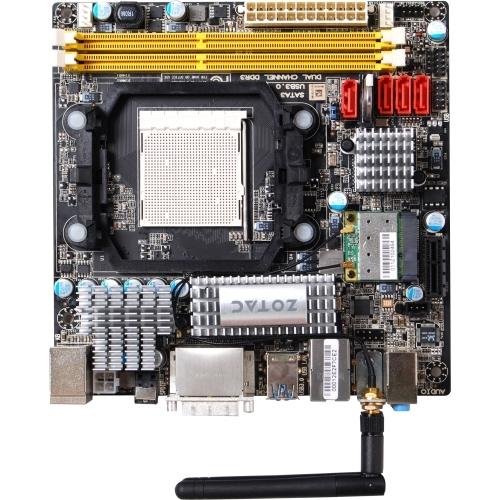 Zotac 880GITX-A-E Desktop Motherboard - AMD Chipset