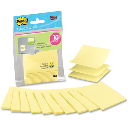 3M Super Sticky R330LND10 Adhesive Note
