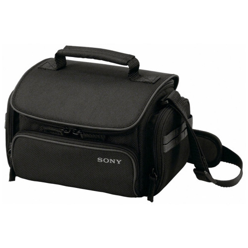 Sony LCS-U20 Carrying Case for Camcorder, Camera, Accessories - Black