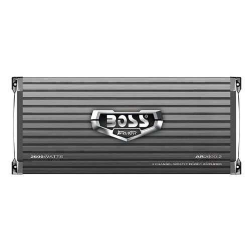 Boss Audio ARMOR AR2600.2 Car Amplifier - 400 W RMS - 2.60 kW PMPO - 2 Channel - Class AB