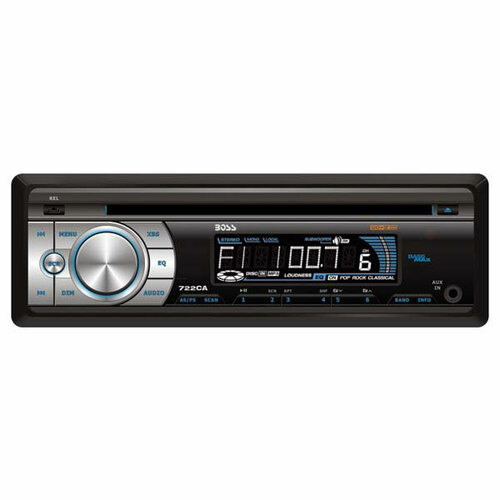 Boss Audio 722CA Car CD/MP3 Player - 200 W - Single DIN