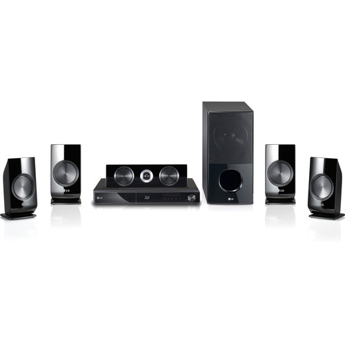LG Electronics LHB336 1100W 5.1 Channel Wi-Fi Ready 3D Home Theater System